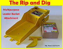 The Rip and Dig - Multipurpose Loader Bucket Attachment