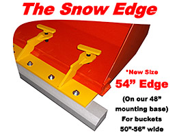 The Snow Edge - 54 Inch Model