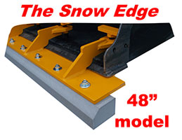The Snow Edge - 48 Inch Model
